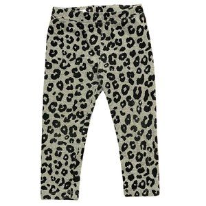 Baby Gap Grey Leopard Print Leggings